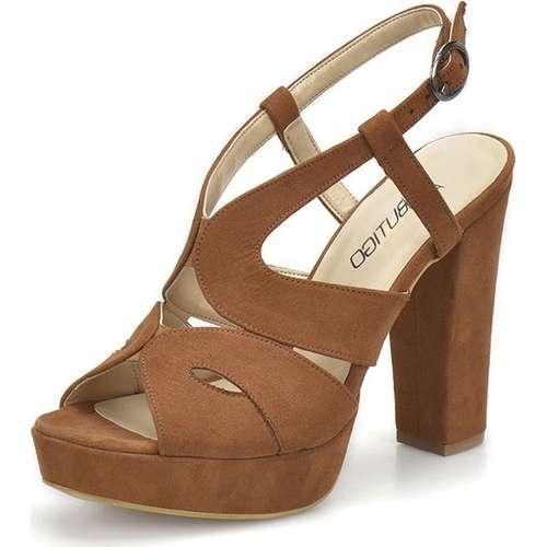 Butigo 18S-141 Taba Kadın Platform Ayakkabı