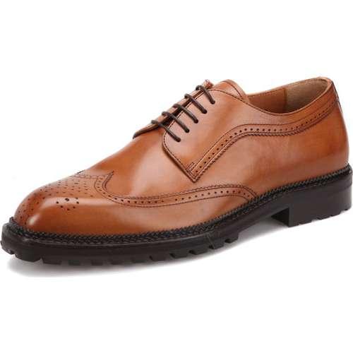 Morandi 3818 Kahverengi Erkek Deri Modern