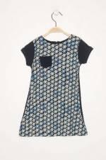 Lacivert Kız Çocuk Elbise