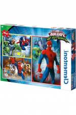 Ultimate Spiderman 3x48 Parça Çocuk Puzzle