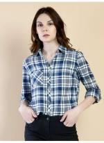 Colins Kadın Kareli Gömlek
