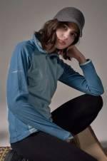 Kadın AL6389 Glacial Fleece III 1/2 Zip Sweatshirt