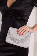 Gümüş Kadın Portföy Çanta
