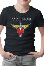Bon Jovi Erkek Siyah T-Shirt -
