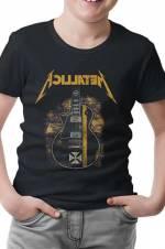 Metallica - Guitar in Sand Erkek Siyah T-Shirt -