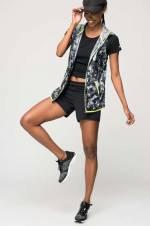 X711 Kadın Siyah Antrenman Ayakkabısı -