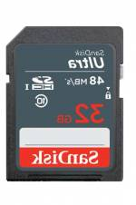 32 GB SANDISK SDSDUNB-032G-GN3IN 48/MB 32GB ULT SD C10