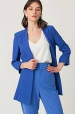 Kadın Parlament Truvakar Kol Blazer Ceket