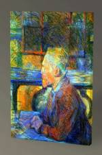 Henri de Toulouse-Lautrec Portrait of Vincent van Gogh - 60X40