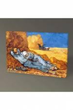 Vincent Van Gogh La siesta Tablo - 75X50