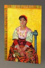 Vincent Van Gogh Madam Segatori Tablo - 60X40