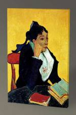 Vincent Van Gogh-Madame Ginoux with Books - 60X40