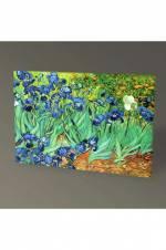 Vincent Van Gogh Süsenler Tablo - 75X50