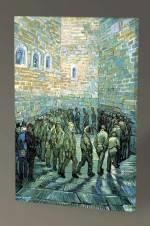 Vincent Van Gogh Tutukluların Yürüyüşü Tablo - 75X50