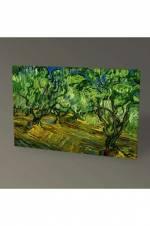 Vincent Van Gogh Zeytinlik Tablo - 75X50