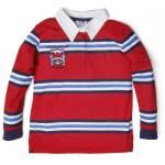 Soobe College Camp Uzun Kol Erkek Çocuk T-Shirt Kırmızı (7-12 Yaş