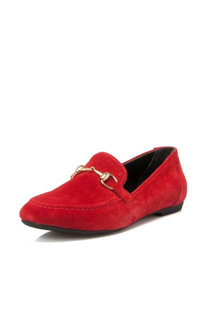 Tergan K18I1AY63764 Kırmızı Hakiki Deri Kadın Günlük Ayakkabı